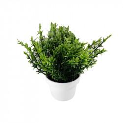 Planta artificial pequeña para escritorio y baño. Decoración de verano