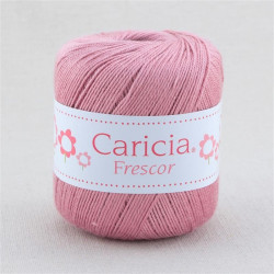 Ovillo lana caricia frescor 75gr. Rosa Palo No.764