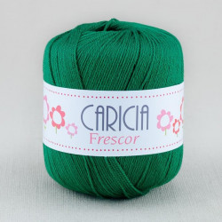 Ovillo lana caricia frescor 75gr. Verde Militar No.464