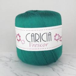 Ovillo lana caricia frescor 75gr. Verde esmeralda No.542
