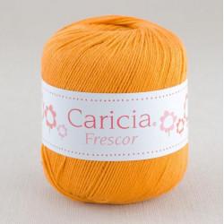 Ovillo lana caricia frescor 75gr. Amarillo mostaza No.315