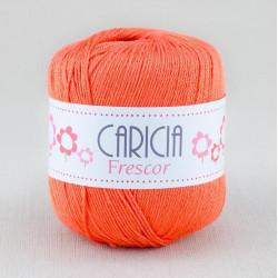 Ovillo lana caricia frescor 75gr. Naranja No.264