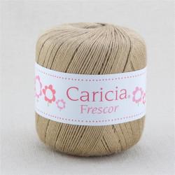 Ovillo lana caricia frescor 75gr. Marrón patata No.883