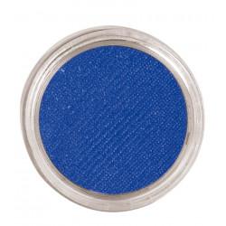 Maquillaje al agua azul marino