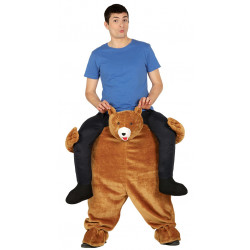 Disfraz carry me oso para adulto. Disfraz oso Grizzly