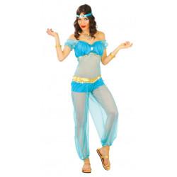 Disfraz de danza oriental para mujer. Disfraz de princesa Jasmín de Aladdín
