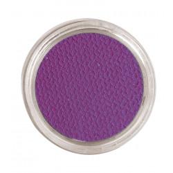 Maquillaje al agua lila