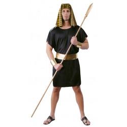 Disfraz de faraón egipcio negro para adulto