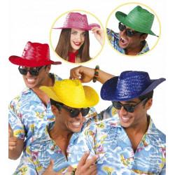 Sombrero de Paja de Diferentes Colores