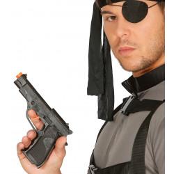 Pistola de detective / policía, PVC 19 cm