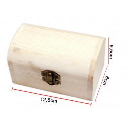 Cofre de Madera para regalo. Cajita de madera para bisutería