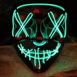 Careta LED The Purge: La noche de las bestias - Careta con luz