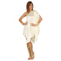 Vestido de Diosa griega adulta. Disfraz de diosa del olimpo