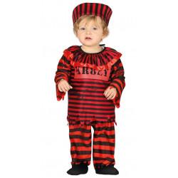Disfraz de payaso asesino bebé
