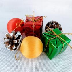 Pack adornos de navidad - 6 pcs