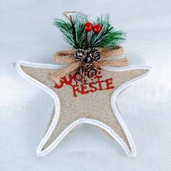 Colgante Estrella 'Feliz Fiesta'