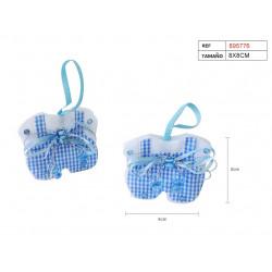 Camiseta Baby Boy Azul para Detalle de Bautizo y Baby Shower