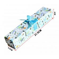 Caja para regalo 'Baby boy'. Caja para reloj o cadena