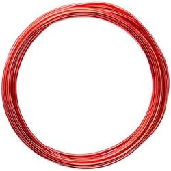 Alambre de Manualidades Rojo 2mm x 3mt