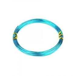 Alambre de Manualidades Azul celeste 1mm x 5mt