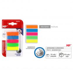 Separadores fluorescentes adhesivo,125uds