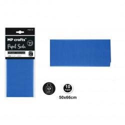 Papel seda azul marino 50x66,10 unidades