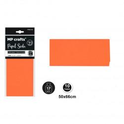 Papel seda naranja 50x66,10 unidades