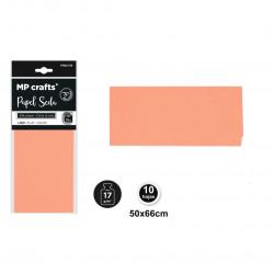 Papel seda salmón 50x66,10 unidades