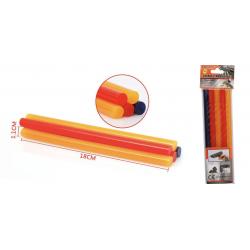 Barras Termofusibles colores para pistola de pegamento eléctrica 5 unidades