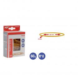 Gomas Elásticas 60 gramos,80x2mm