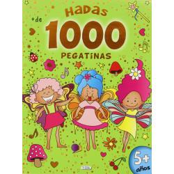Libro Hadas 1000 pegatinas
