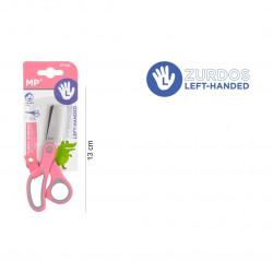 Tijera Infantil para Zurdos color rosa,13cm
