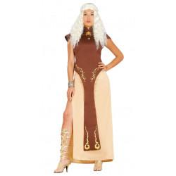 Disfraz de reina dragón adulta. Disfraz de Daenerys Targaryen