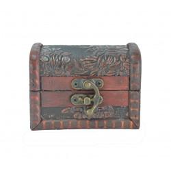 Cofre de Madera Pequeño. Cajita de madera para regalos