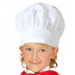 Gorro de cocinero Infantil de tela