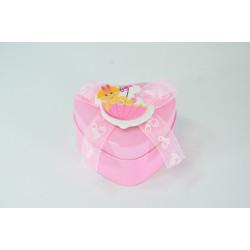 Lata baby rosa para bautizo y baby shower