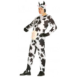 Disfraz de vaca del corral para adulto