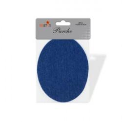 Parche Vaquero Azul Adhesivo para Ropa - Set 2 unidades