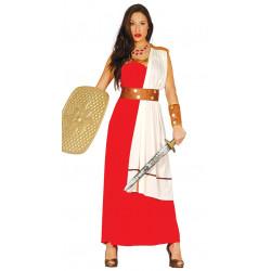 Disfraz de espartana adulta, disfraz de luchadora romana