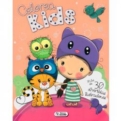 Libro Colorea Kids - 30 divertidas ilustraciones
