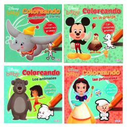 Libro Baby Disney Coloreando - Libro infantil para colorear