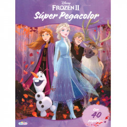 Frozen 2 Super Pegacolor Libro para Colorear