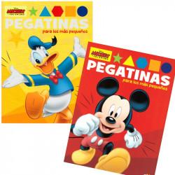 Libro Mickey y sus amigos + pegatinas - Libro infantil para colorear