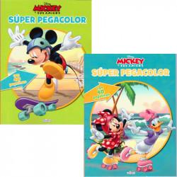 Super Pegacolor Mickey y sus amigos - Libro para colorear