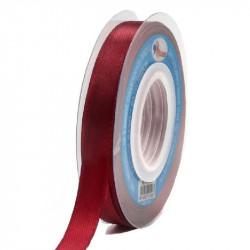 Cinta de Raso 7mm Rojo Burdeos - Cinta satín para lazos y manualidades