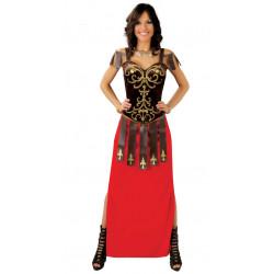 Disfraz de tiberia adulta. Disfraz de gladiadora