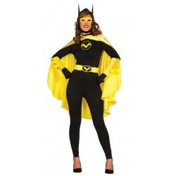 Disfraz de black heroine para adulta. Disfraz de batman para mujer