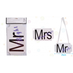 Cartel 'Mr Mrs'