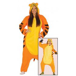 Pijama tigre adulto