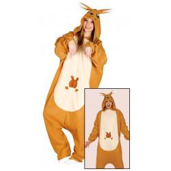 Disfraz pijama de canguro para adulto